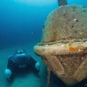 U-Boat Worx private submersibles C-Explorer 3 - wreck diving in Malta