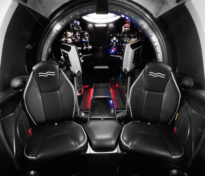 Super Yacht Sub 3 interior