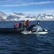 Submarine dive expeditions in Greenland with the U-Boat Worx C-Explorer 3 from Motor Yacht Legend